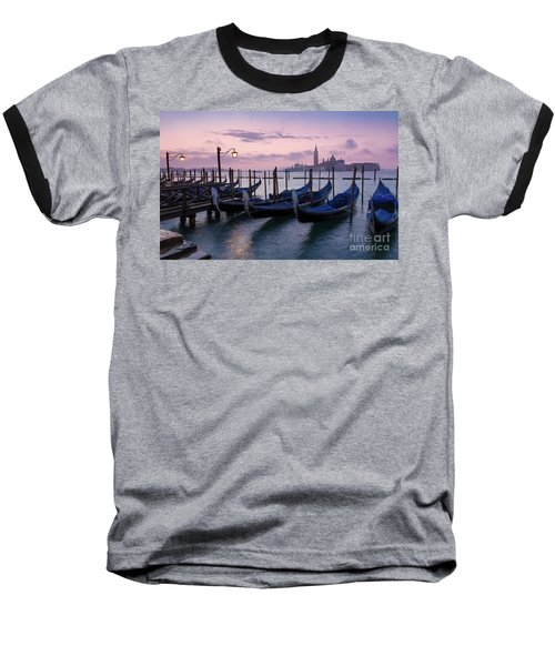 Baseball T-Shirt featuring the photograph Venice Dawn II by Brian Jannsen