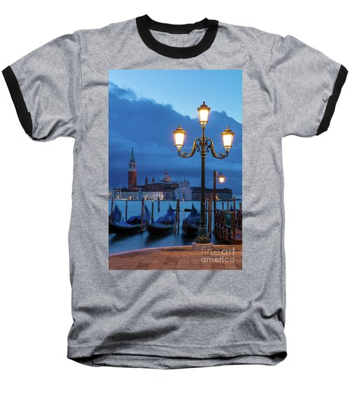 Baseball T-Shirt featuring the photograph Venice Dawn V by Brian Jannsen