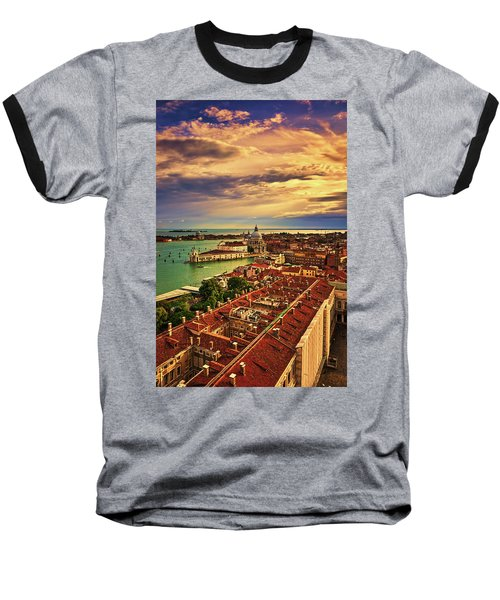 From The Bell Tower In Venice, Italy Baseball T-Shirt