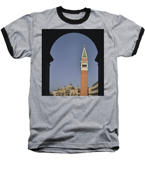 Venice In A Frame Baseball T-Shirt