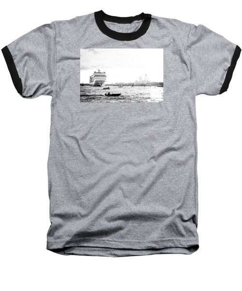 Venice In The Age Of Mass Tourism Baseball T-Shirt