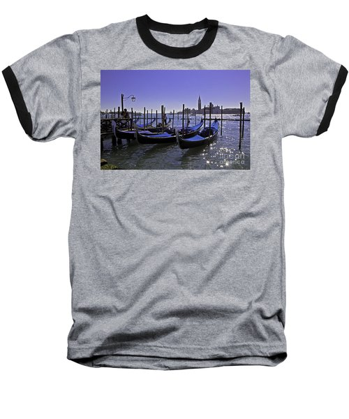 Venice Is A Magical Place Baseball T-Shirt by Madeline Ellis