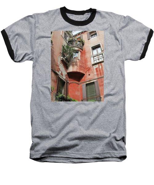 Venice Italy Street Baseball T-Shirt by Lisa Boyd
