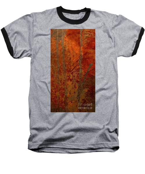 Baseball T-Shirt featuring the mixed media Venice by Michael Rock