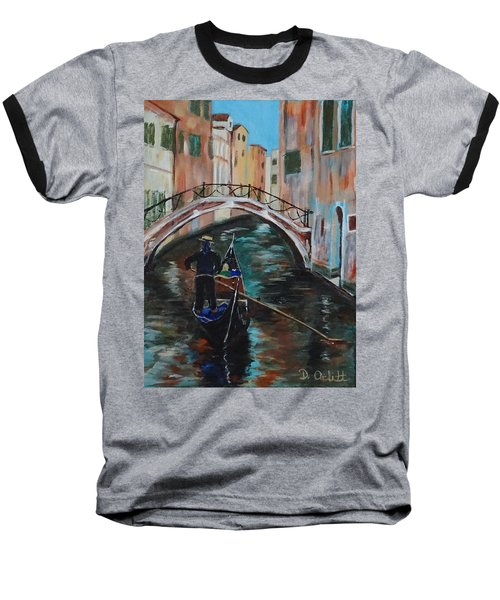 Venice Morning Baseball T-Shirt