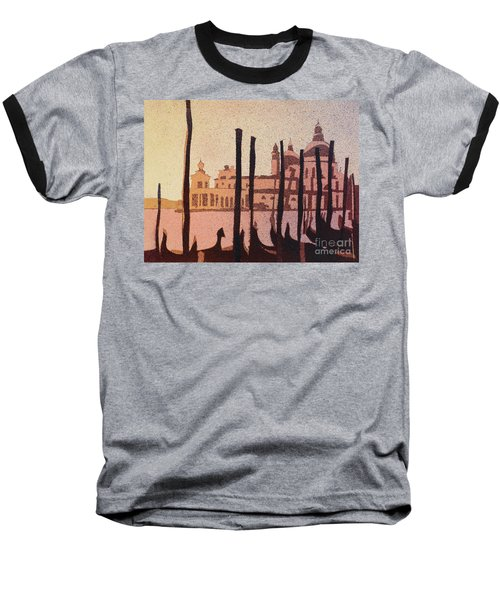 Venice Morning Baseball T-Shirt by Ryan Fox