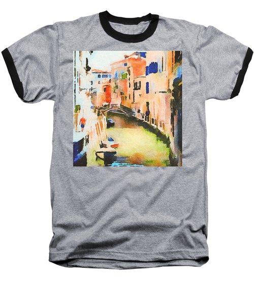 Venice On Waters Baseball T-Shirt