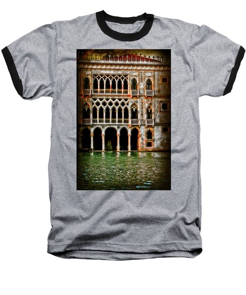 Baseball T-Shirt featuring the photograph Venice Palace  by Harry Spitz