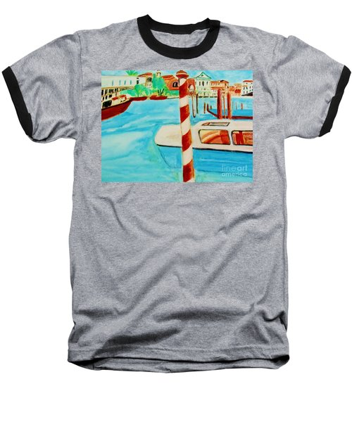 Venice Travel By Boat Baseball T-Shirt