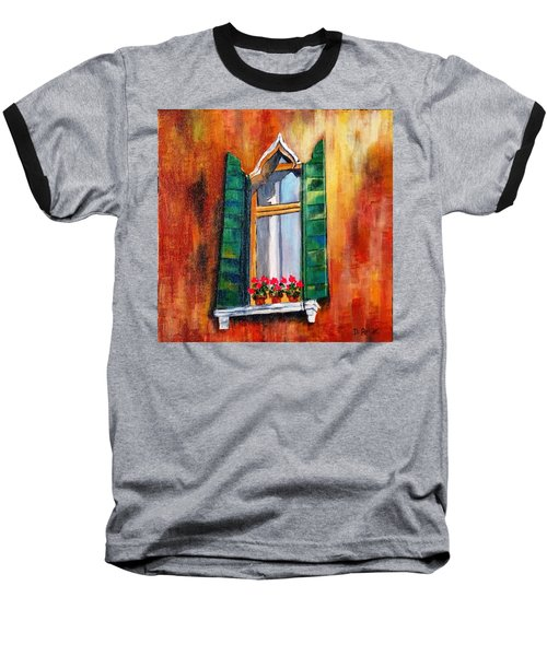Venice Window Baseball T-Shirt