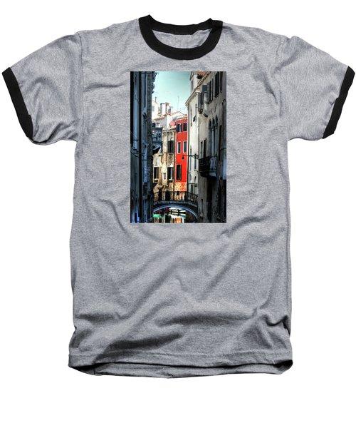 Baseball T-Shirt featuring the photograph Venice Xx by Tom Prendergast