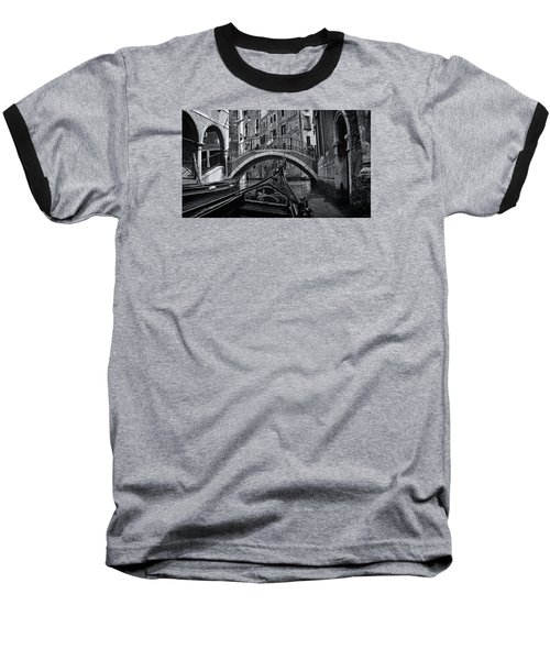 Baseball T-Shirt featuring the photograph Venice Yesteryear by Andrew Soundarajan