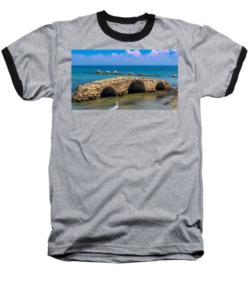 Venitian Bridge Argassi Baseball T-Shirt