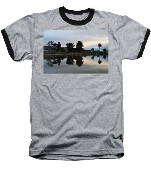 Baseball T-Shirt featuring the photograph Ventura California Coast Estuary by Kyle Hanson
