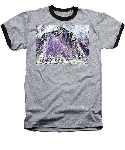 Venus Blue Garden Baseball T-Shirt