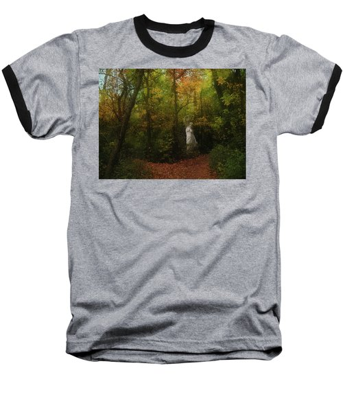 Venus Of The Woodland Baseball T-Shirt by Cedric Hampton