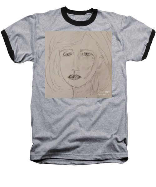 Vera In Pencil Baseball T-Shirt