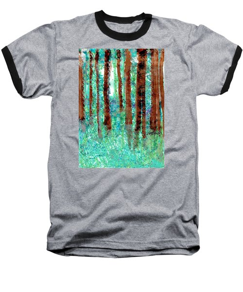 Verdant Vistas Baseball T-Shirt