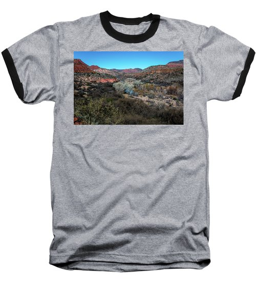 Verde Canyon Oasis Baseball T-Shirt