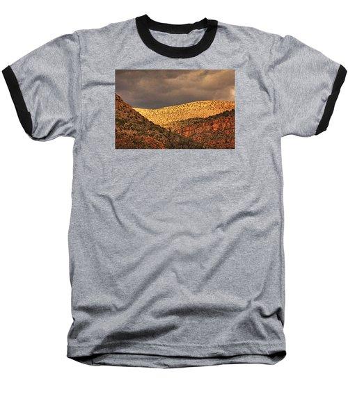Verde Canyon View Txt Baseball T-Shirt