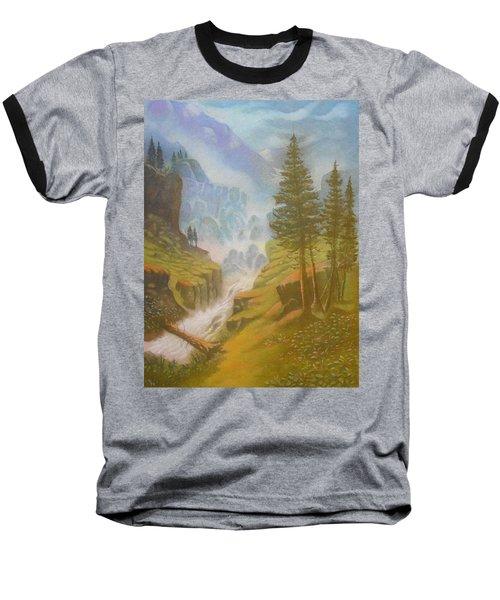 Verdi Colline Baseball T-Shirt