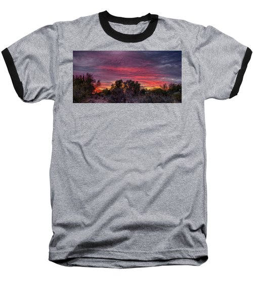 Verigated Sky Baseball T-Shirt