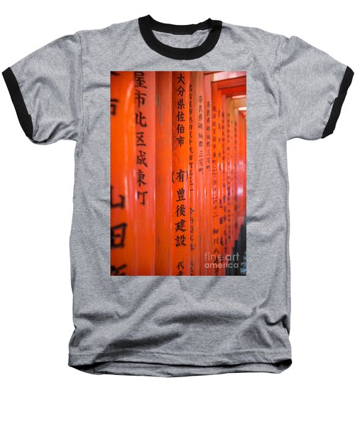 Vermillion Torii I Baseball T-Shirt