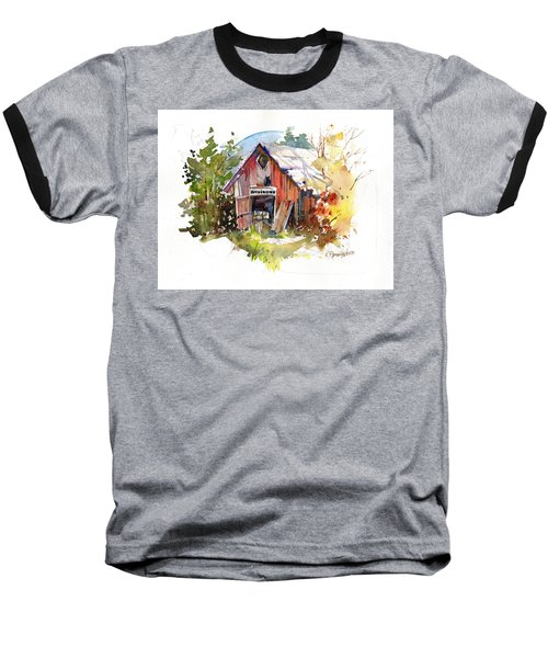 Vermont Barn Baseball T-Shirt