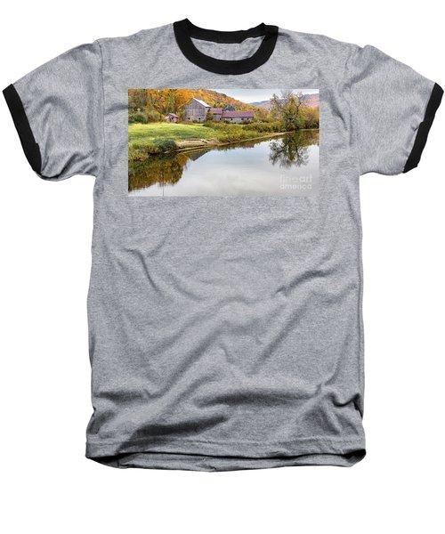 Vermont Countryside Baseball T-Shirt