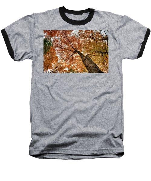 Vermont Fall Foliage Views Baseball T-Shirt