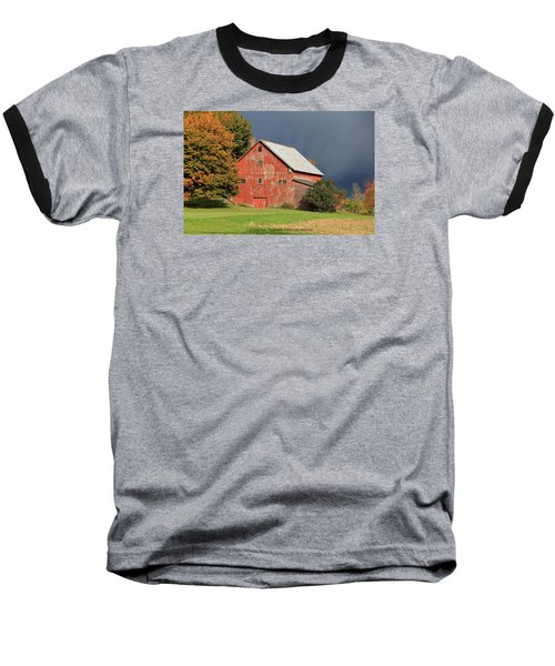 Vermont Farm Baseball T-Shirt