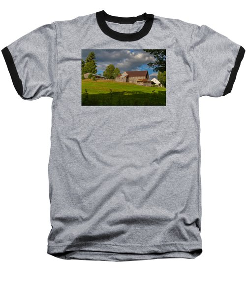 Vermont Hilltop Farm Baseball T-Shirt