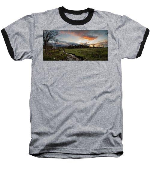 Vermont Sunset Baseball T-Shirt