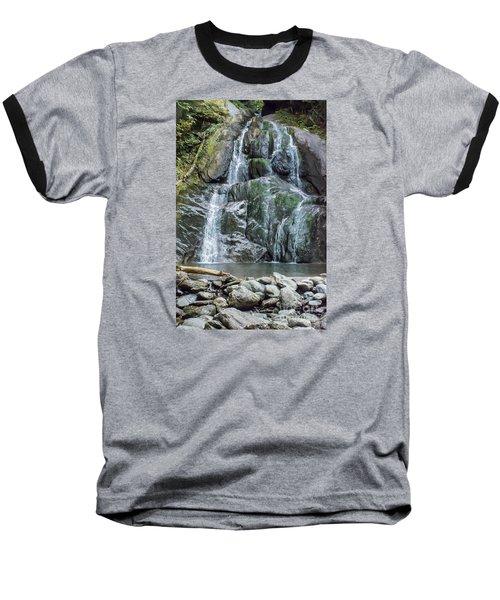 Vermont Waterfall Baseball T-Shirt