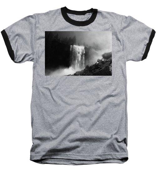 Vernal Fall And Mist Trail Baseball T-Shirt