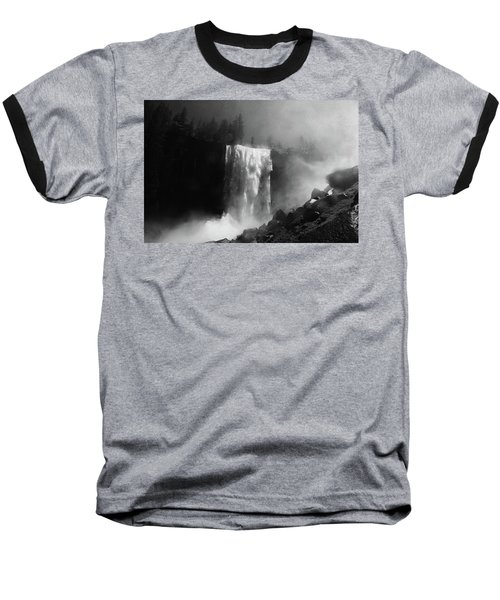 Vernal Fall And Mist Trail Baseball T-Shirt