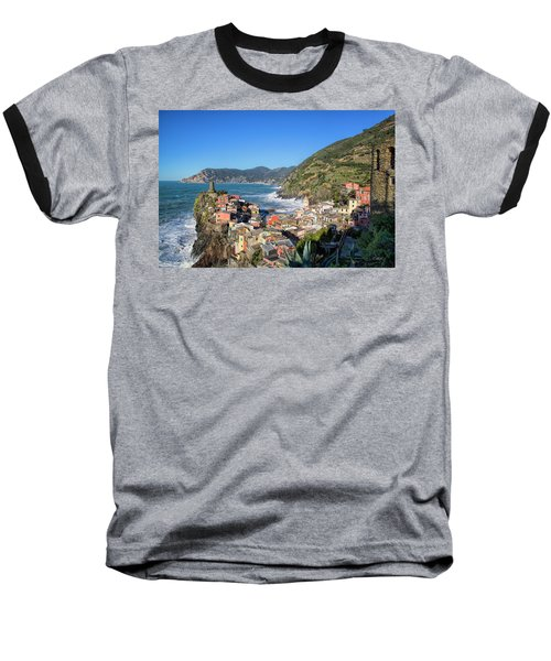 Vernazza In Cinque Terre Baseball T-Shirt