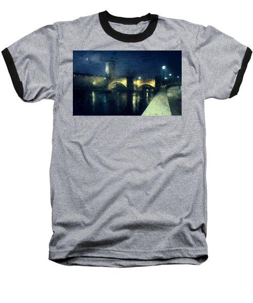 Verona, Castelvecchio Baseball T-Shirt
