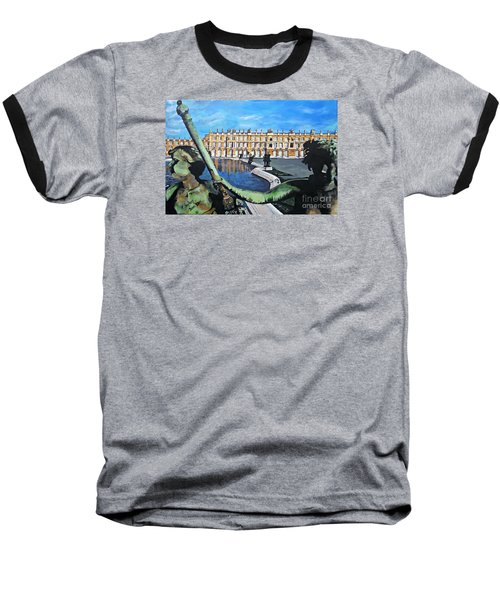 Versailles Palace Baseball T-Shirt by Francine Heykoop