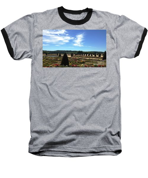 Baseball T-Shirt featuring the photograph Versailles Palace Gardens by Therese Alcorn