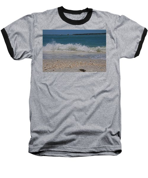 Baseball T-Shirt featuring the photograph Verses Out Of Rhythm by Michiale Schneider