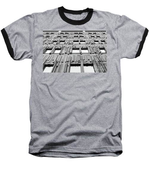 Vertical Lines Baseball T-Shirt