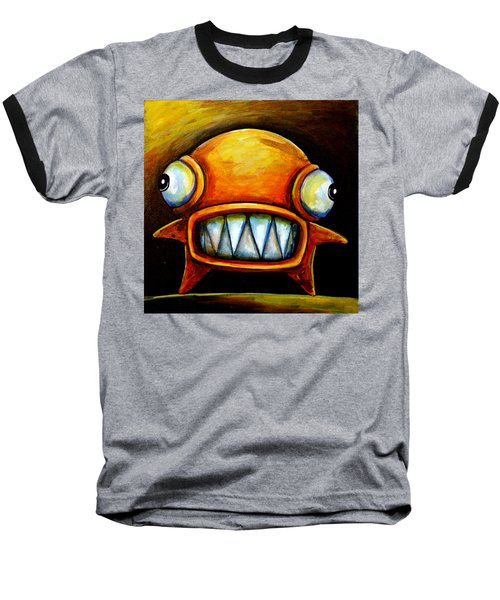 Very Scarey Glob Baseball T-Shirt