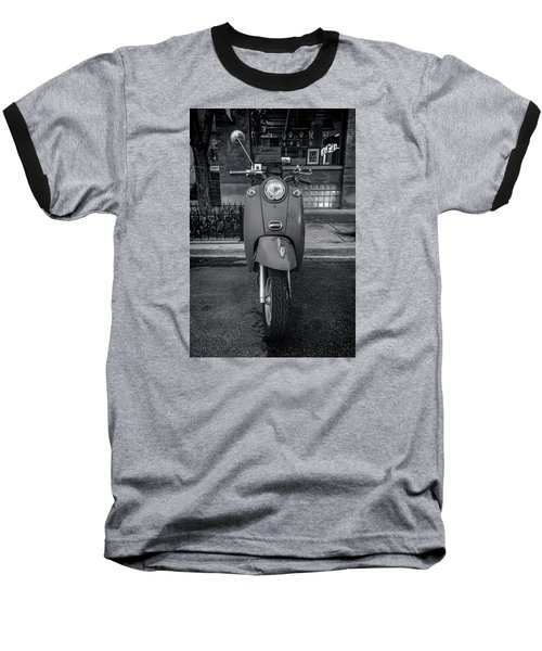 Baseball T-Shirt featuring the photograph Vespa by Sebastian Musial