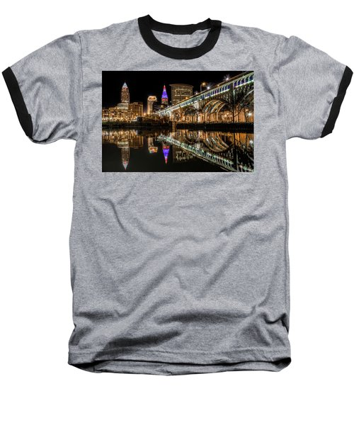 Veterans Memorial Bridge Baseball T-Shirt