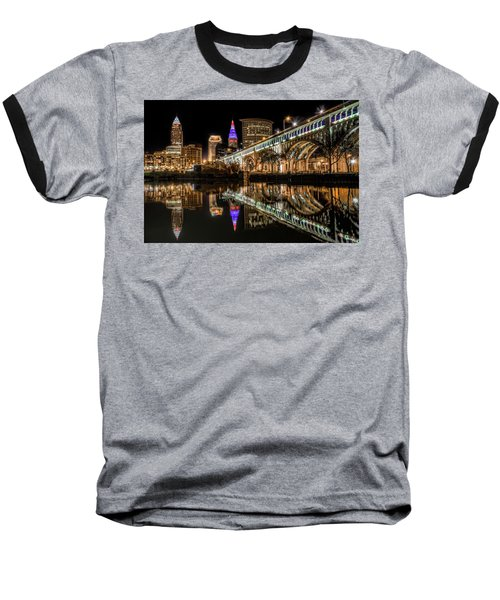 Veterans Memorial Bridge Baseball T-Shirt