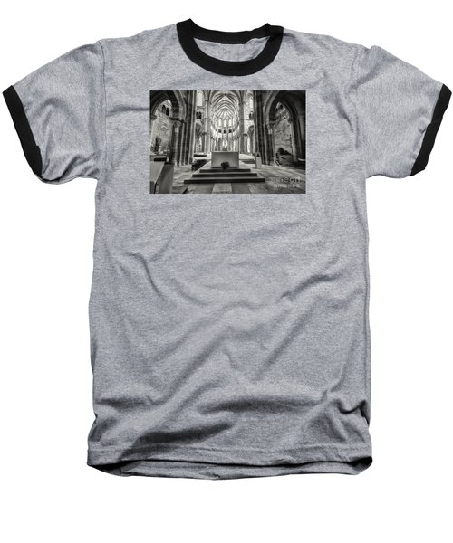 Baseball T-Shirt featuring the photograph Vezelay Basilica France by Jack Torcello