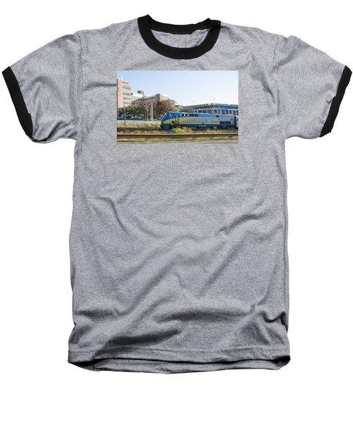 Via Rail Toronto Ontario Baseball T-Shirt by John Black