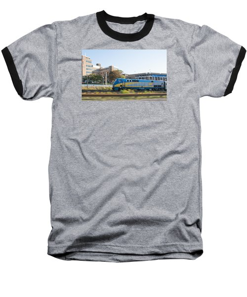Via Rail Toronto Ontario Baseball T-Shirt