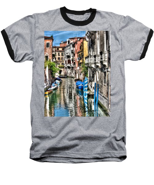 Baseball T-Shirt featuring the photograph Viale Di Venezia by Tom Cameron